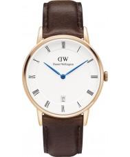Daniel Wellington DW00100094 Dapper 34mm Bristol rose gouden horloge