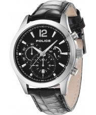 Police 12757JS-02 Mens ohio zwart lederen band horloge