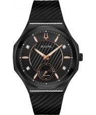 Bulova 98R240 Dames diamantkromme horloge