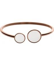 Skagen SKJ0781791 Ladies zee glas rose gouden stalen armband