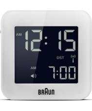 Braun BNC008WH-RC Global radiogestuurde reizen wekker - wit