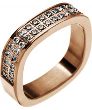 Edblad 83186 Ladies jolie rose goud verguld ring - maat L (xs)