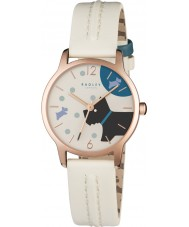 Radley RY2404 Dames over de maan blonde lederen band horloge