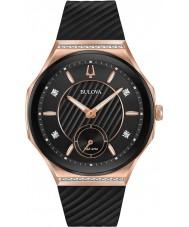 Bulova 98R239 Dames diamantkromme horloge