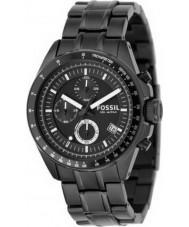 Fossil CH2601 Mens decker black chronograafhorloge