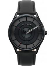 Police 15399JSB-02 Burbank-horloge voor mannen