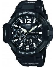 Casio GA-1100-1AER Mens G-SHOCK zwart kunststof band horloge