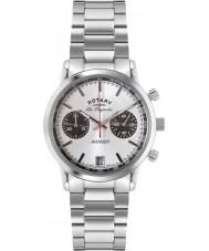 Rotary GB90130-06 Mens les originales sport wreker alle zilveren chronograafhorloge