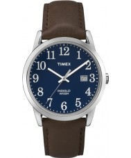 Timex TW2P75900 Mens gemakkelijke lezer bruin horloge