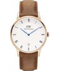 Daniel Wellington DW00100113 Dapper 34mm durham rose gouden horloge