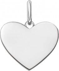 Thomas Sabo LBPE0002-001-12 Dames houden van brug 925 sterling zilveren hanger