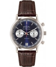 Rotary GS90130-05 Mens les originales sport wreker bruin chronograaf