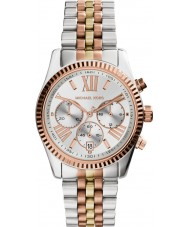 Michael Kors MK5735 Ladies lexington two tone stalen chronograaf