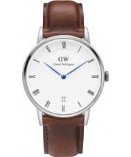 Daniel Wellington DW00100095 Dapper 34mm st mawes zilveren horloge