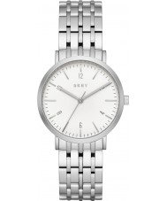 DKNY NY2502 Ladies Minetta zilveren stalen armband horloge