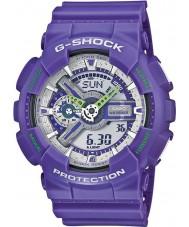 Casio GA-110DN-6AER Mens G-SHOCK wereldtijd blauw combi horloge