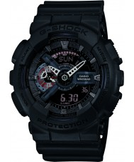 Casio GA-110MB-1AER Mens g-schok mat zwart kunststof band horloge