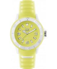 Ice-Watch GL.YW.U.S.14 Unisex ice-glow gele horloge
