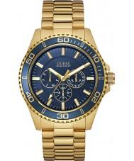 Guess W0172G5 Mens chaser vergulde armband horloge