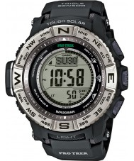 Casio PRW-3500-1ER Mens pro trek triple sensor cerro Lejia horloge