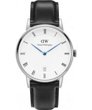 Daniel Wellington DW00100096 Dapper 34mm Sheffield zilveren horloge