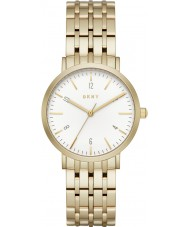 DKNY NY2503 Ladies Minetta gouden stalen armband horloge