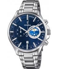 Festina F6852-2 Mens zilveren chronograafhorloge