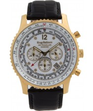 Krug-Baumen 600202DS Mens luchtreiziger diamanten horloge