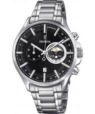 Festina F6852-3 Mens zilveren chronograafhorloge