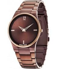 Police 12744JRSBZR-12M Mens horizon bruine horloge