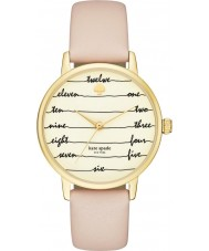 Kate Spade New York KSW1059 Ladies metro bruine lederen band horloge