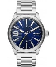 Diesel DZ1763 Mens rasp zilveren stalen armband horloge