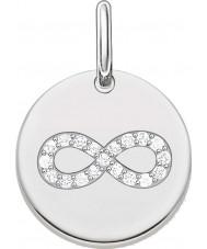 Thomas Sabo LBPE0004-051-14 Dames houden van brug 925 sterling zilveren hanger