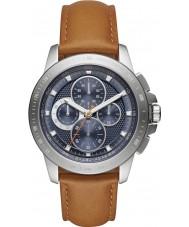 Michael Kors MK8518 Mens ryker bruin chronograaf