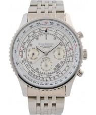 Krug-Baumen 600301DSA Mens air traveler diamond automatisch horloge