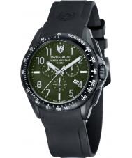 Swiss Eagle SE-9061-03 Mens veld tactische zwarte chronograaf