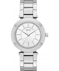 DKNY NY2285 Ladies Stanhope zilveren stalen armband horloge