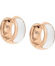 Fossil JF01120791 Ladies klassiekers rose goud stalen oorbellen
