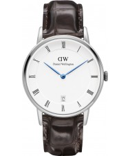 Daniel Wellington DW00100097 Dapper 34mm york zilveren horloge