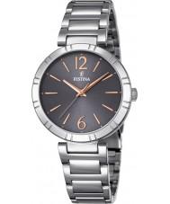 Festina F16936-2 Ladies mademoiselle zilveren stalen armband horloge