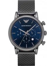 Emporio Armani AR1979 Heren Classic gunmetal chronograafhorloge