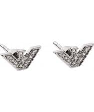 Emporio Armani EG3027040 Ladies sterling zilver toon oorbellen