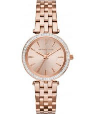 Michael Kors MK3366 Ladies Darci rose goud verguld horloge