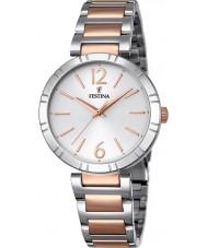 Festina F16937-2 Ladies mademoiselle two tone armband horloge