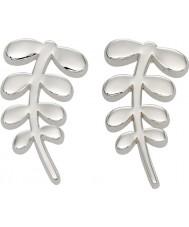 Orla Kiely E5159 Ladies maatje zilveren stam oorknopjes