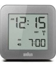 Braun BNC009GY-RC Grey digitale wekker