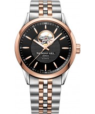 Raymond Weil 2710-SP5-20021 Mens freelancer two tone stalen armband horloge