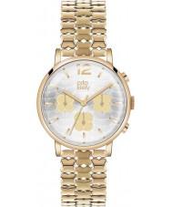 Orla Kiely OK4000 Ladies frankie chronograaf hamilton vergulde horloge