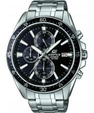 Casio EFR-546D-1AVUEF Mens bouwwerk zilver staal chronograafhorloge