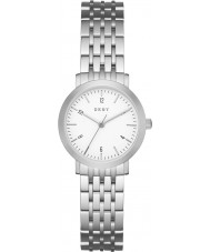 DKNY NY2509 Ladies Minetta zilveren stalen armband horloge